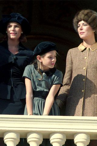 Princess Stephanie, Charlotte, and Princess Caroline (Grace's girls and grandaughter)