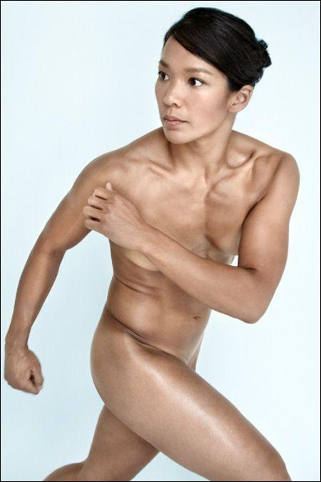 athlete girl naked famous
