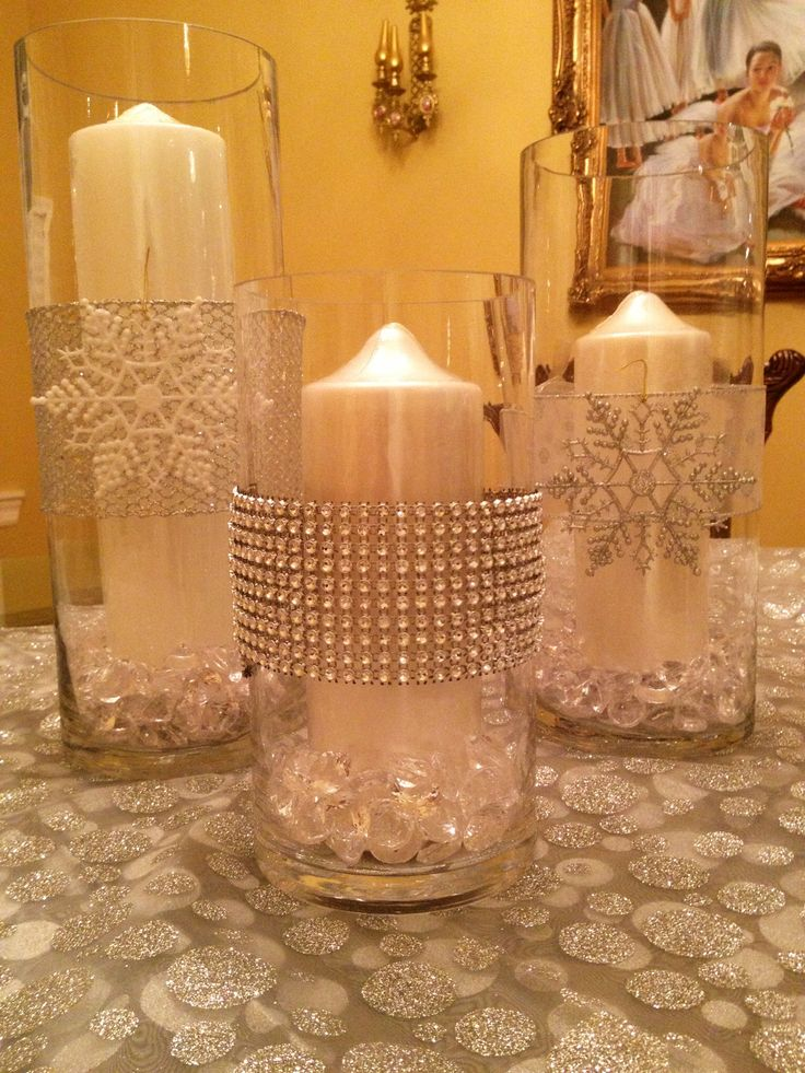 Best ideas about snowflake centerpieces on pinterest