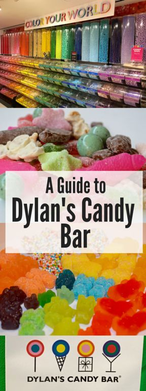 A guide to visiting Dylan's Candy Bar in New York City! A must-do!