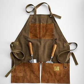 english-style garden apron from RedEnvelope.com