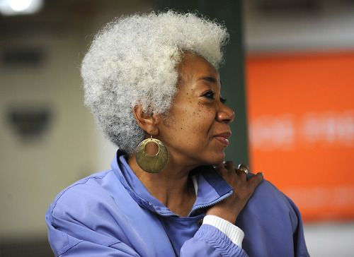 Gray Natural Hair Styles: 17 Best Images About Silver Grey Hair Swag On Pinterest