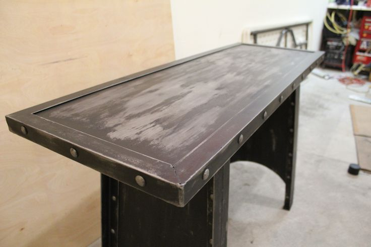 All Steel Industrial Sofa Table Modern Industrial Furniture Pinterest Industrial Sofas