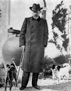 "Anton Chekhov loved all animals very much with the exception of cats, for whom he felt an invincible disgust. He loved dogs specially. ""Kashtanka"", his ""Bromide"" and ""Quinine"" which he had in Melikhovo, he remembered and spoke of, as one remembers one's dead friend. Reminiscences of Chekhov, by Alexander Krupin"