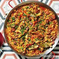 Chicken & Chorizo Paella Rachaelraymag.com