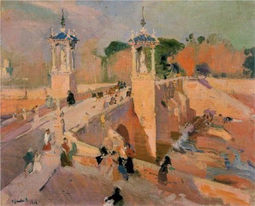 Puente de Real - Joaquín Sorolla