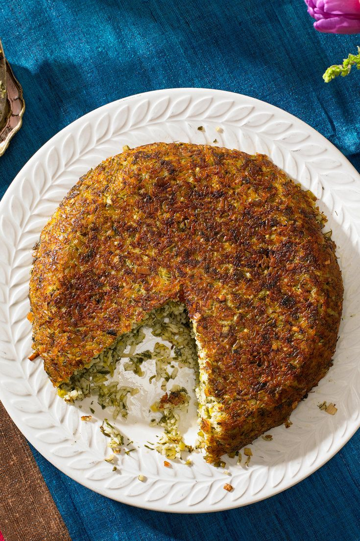 NYT Cooking: Cooked in two stages, this herbed rice, or sabzi polo, is a constant at the Persian New Year table, where everyone fights over the crust of crisp rice called tahdig. You can use a food processor to chop the herbs if you like. It's key to do the herbs in batches (don't overfill the bowl of the processor), to pulse rather than run and to stop and scrape a few...