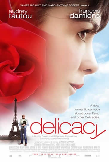 Audrey Tautou in Delicacy. Review by Gabriel Ryder. Cinema Without Borders.