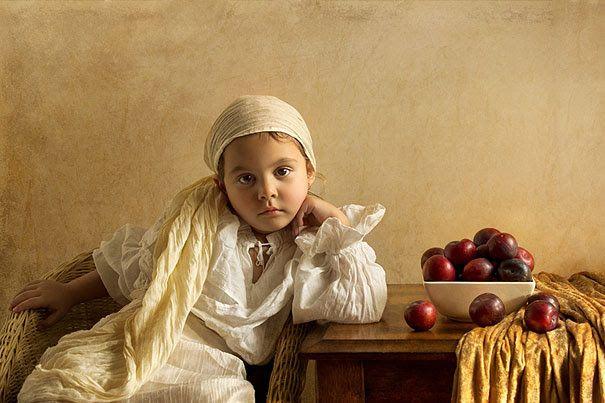 Un papa intègre le portrait de sa petiote de 5 ans dans de célèbres tableaux! – L'Humanosphère