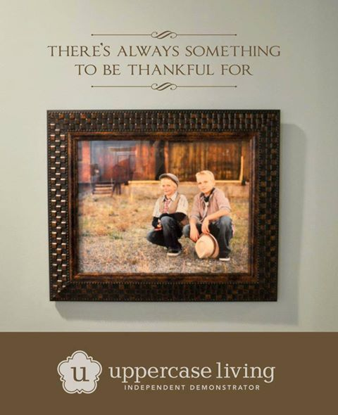 You can create such a complete look when you add a few words above a frame!   http://foreverexpressions.uppercaseliving.net/