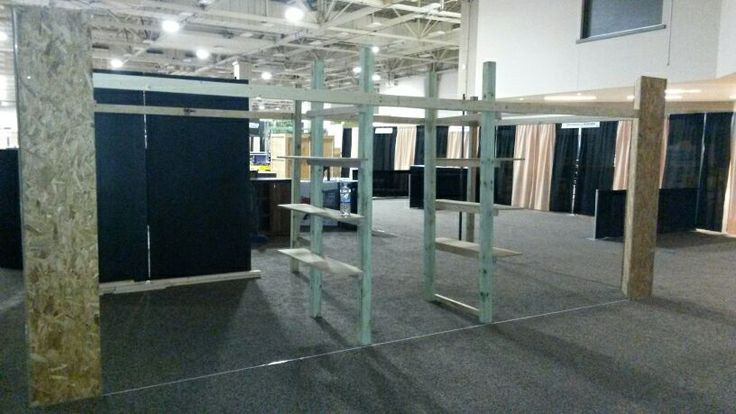 The shell of our stand, Dallas SCI 2014