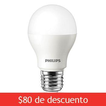 Costco Mexico - Philips, paquete de 4 focos LED OPP A19 clásico 10W (60W) cálida. Para la cocina =)