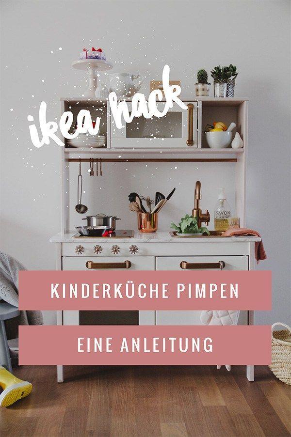 IKEA Kinderküche pimpen: Eine kleine Anleitung | Mama // DIY | Ikea ...