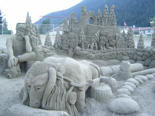 Amazing sand art - Sharenator.