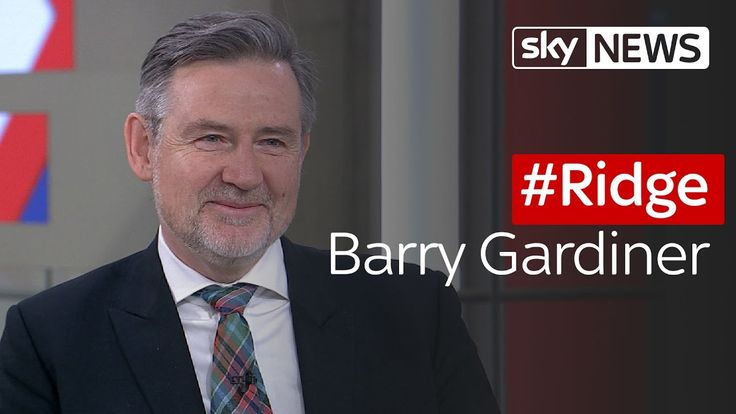 #Ridge: Barry Gardiner - Shadow Secretary for International Trade