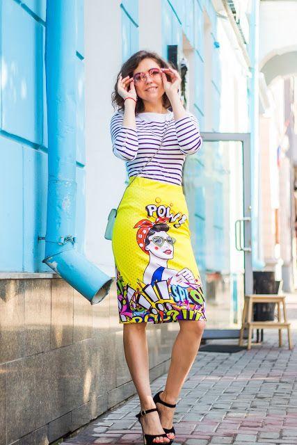 Вещи в полоску, модные вязаные вещи 2016, стиль модные тенденции (фото 1)