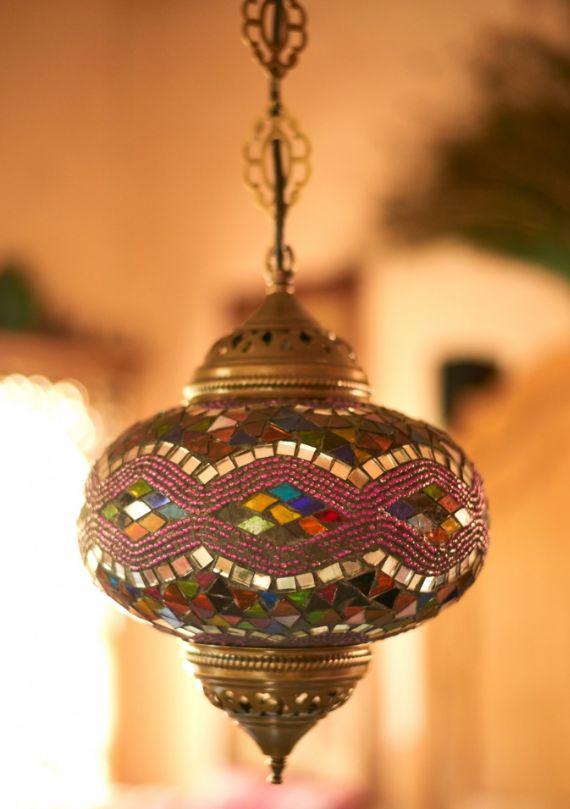 Colorful mosaic turkish hanging lamp discoverturkey lamp homedecor ebhome earthboundtrading