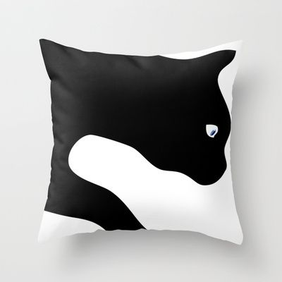 Kitty Throw Pillow : 59 best images about Cat Pillow on Pinterest