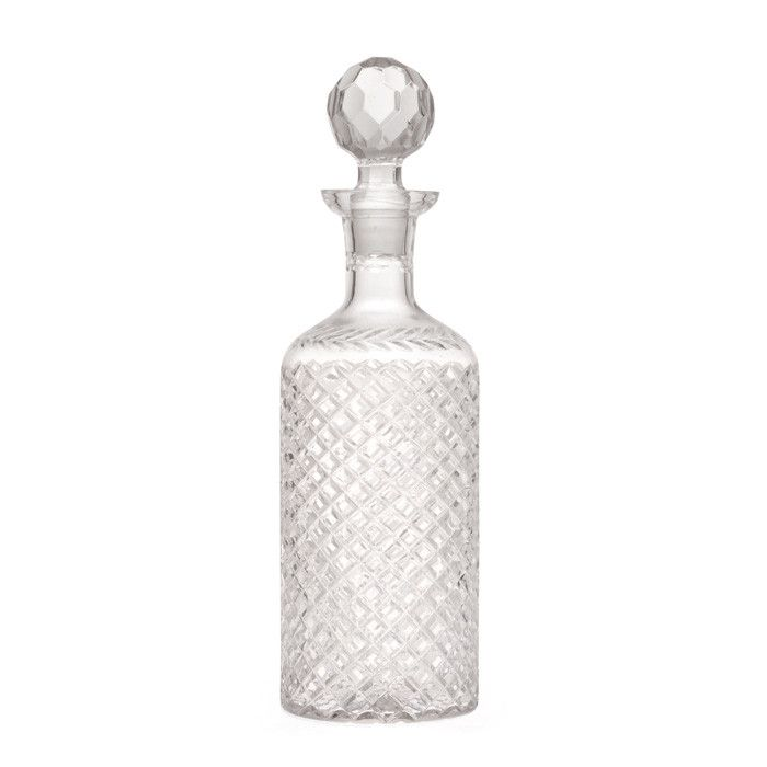 """Eclipse Home Collection Modern Decanter 12"""" H x 3.5"""" Dia."""