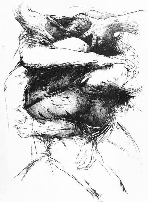 Litografías de Luis Caballero