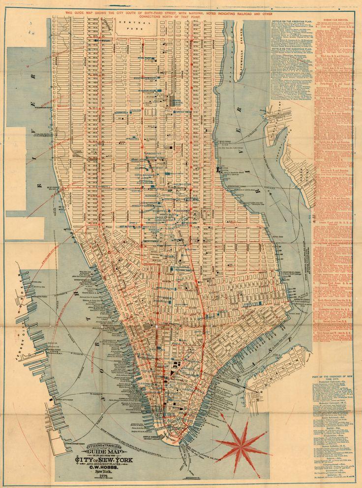 unknown 1879 downtown midtown manhattan new york