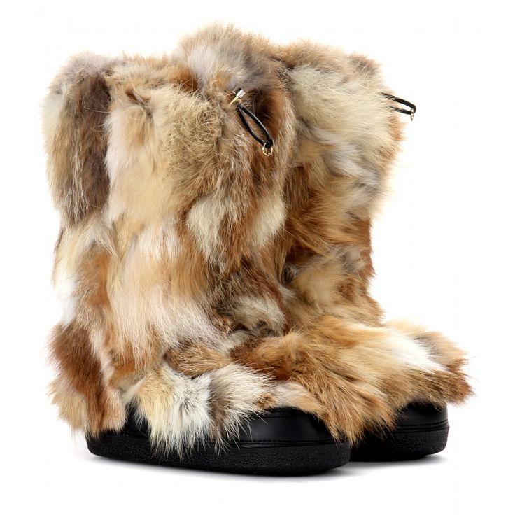 Chloé - Fox fur boots - mytheresa.com