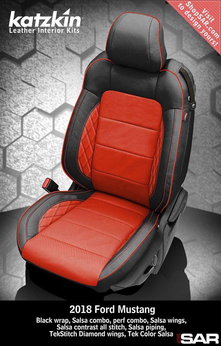 Katzkin Custom Leather Auto Interiors Leather Seat Covers Automotive Upholstery Leather Seat Covers Car Interior