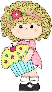 Resultado de imagen para dibujos para colorear de cupcakes con caritas