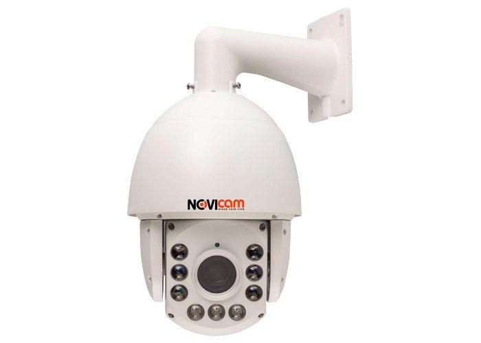 Видеокамера IP NOVIcam NP118 1914-02 Скоростная купольная поворотная IP видеокамера NOVIcam NP118 передаёт превосходное изображение HD с высоким разрешением 960p и обеспечивает отличный обзор даже мельчайших деталей.Используемая матрица обеспечивает отличную картинку как в светлое, так и в темное время суток. Мощная интеллектуальная ИК подсветка освещает расстояние до 120 метров. Автоматическая настройка яркости, в зависимости от зума камеры, позволяет избежать засветки изображения. ИК…