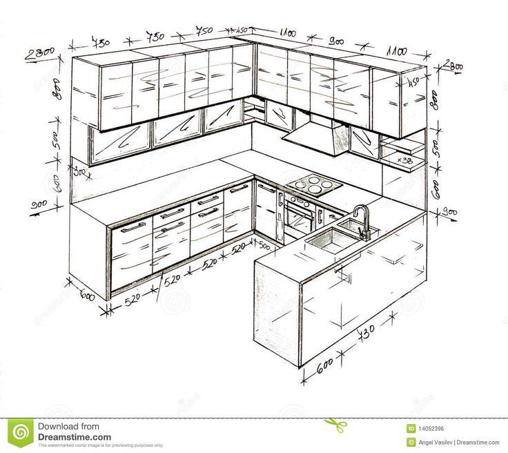 Kitchen Layout Sketch: 19 Best Diseños Muebles De Hogar Images On Pinterest