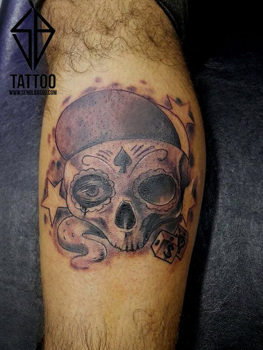 Skull tattoo work #tattoo #tattooart #skull #work  #dövme #kadıköy #istanbul #traditionaltattoo #newschool #skulltattoo