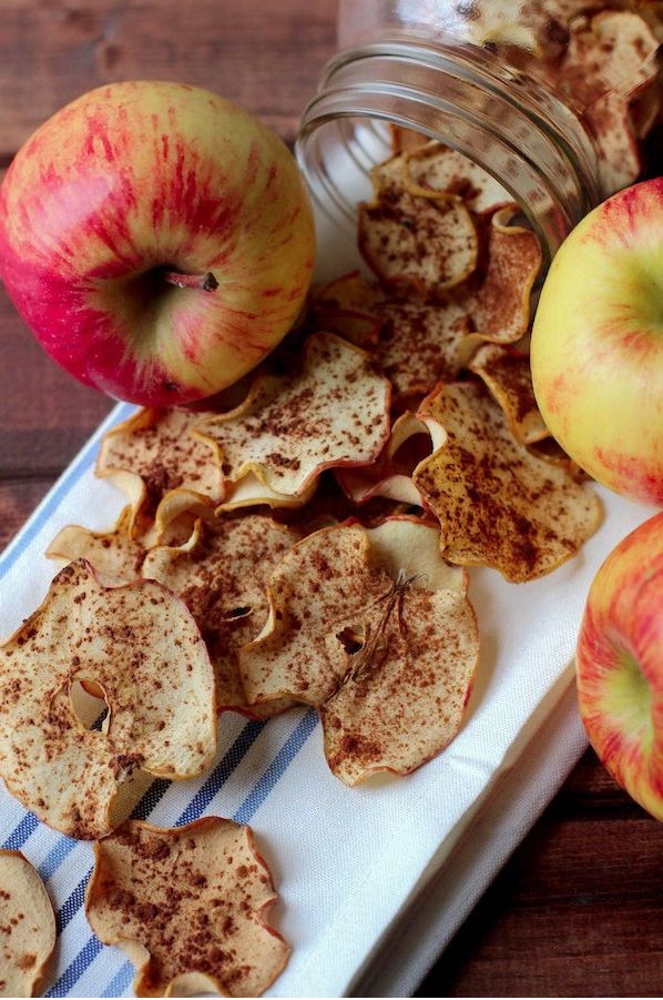 Apple Cinnamon Chips | 18 Delicious Homemade Chips That Are Actually Healthy