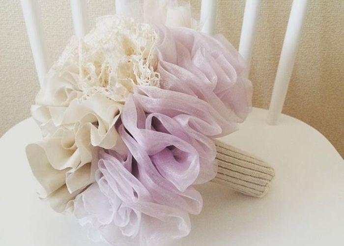 お花だけじゃない♡布でできたブーケ『ファブリックブーケ』が可愛くって流行りそう♡のトップ画像