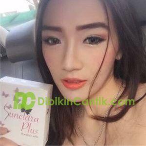 sunclara plus whitening suplemen pemutih kulit thailand