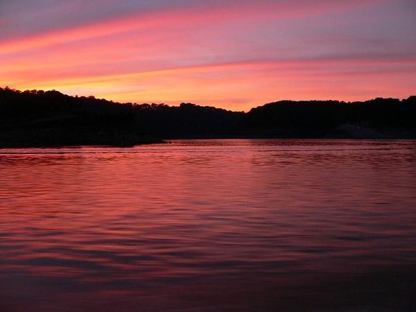 Lake Cumberland Sunset