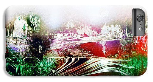 Fantasy Land IPhone 6 Plus Printed with Fine Art spray painting image Fantasy Land by Nandor Molnar (When you visit the Shop, change the orientation, background color and image size as you wish)