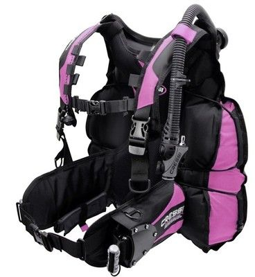 Cressi Air Travel BCD,Scuba Lady Pink Sz M -I want this~
