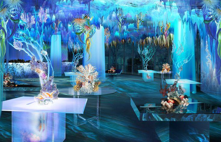 Ocean Themed Wedding Reception