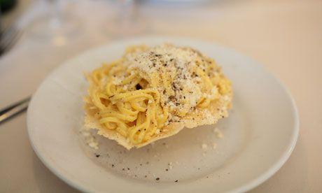 Good range of high/how restaurants http://www.guardian.co.uk/travel/2011/jul/13/10-best-restaurants-rome
