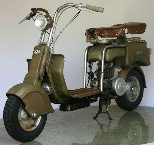 "1949 Lambretta model ""B"""
