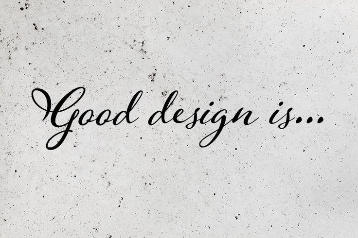 Milyen a jó design - válasz egy kollégának
