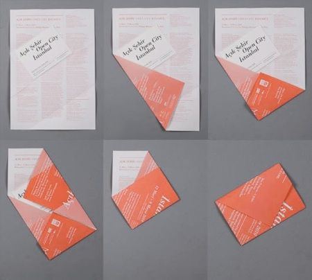 Love this fantastic fold. Açık Şehir - Open City Istanbul flyers. Designed in collaboration with Mary Ikoniadou, Future Anecdotes Istanbul (FAI).