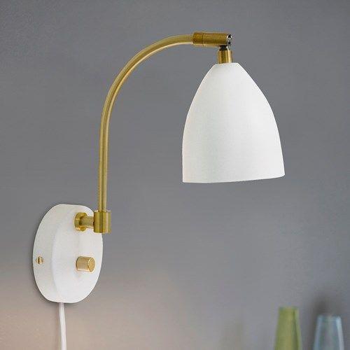 Deluxe LED vegglampe