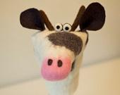 Handfelted Handpuppet Mouse. €37.50, via Etsy.