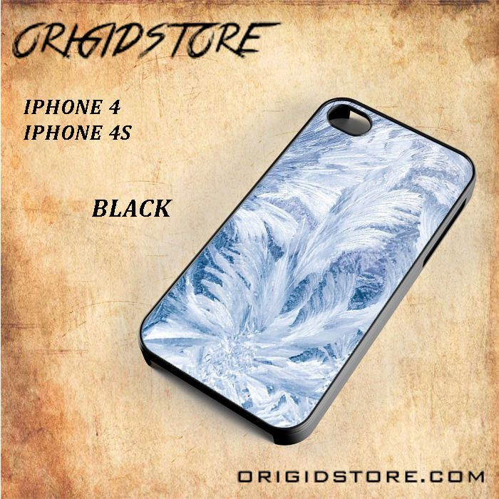 Frost Grass Snap on 2D Black and White Or 3D Suitable With Image For Iphone 4/4S Case