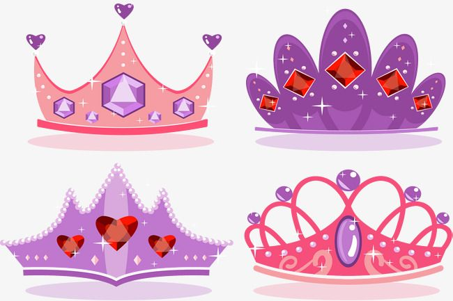 Pink Purple Romantic Crown Png And Vector Crown Crafts Pink Crown Mlp My Little Pony