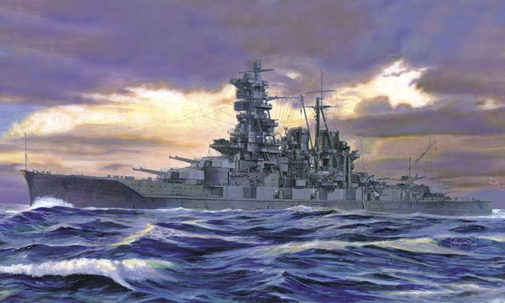 IJN Battleship Nagato, 1920 by KiRi group キリ.
