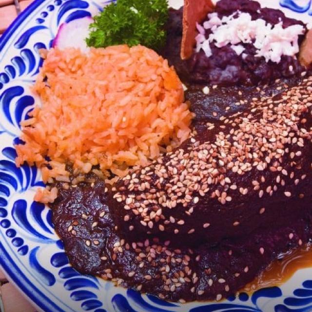El mole de  #México... Rico y delicioso, el mole de Tepoztlán mmm...