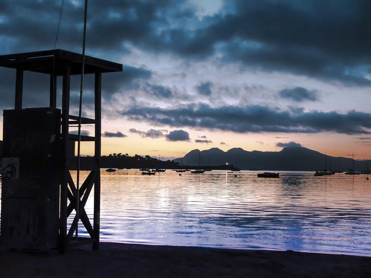Sunrise in Puerto Pollensa
