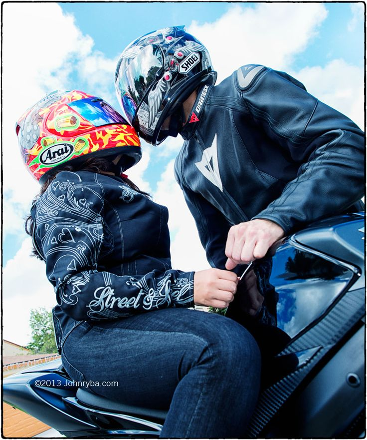 Motorcycle Couple; Couple on a Motorcycle; Cute Couples Pictures; Couple Poses; Engagement and Couples Photography by JohnRyba.com